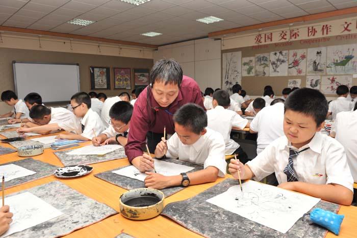 国画、书法专项课