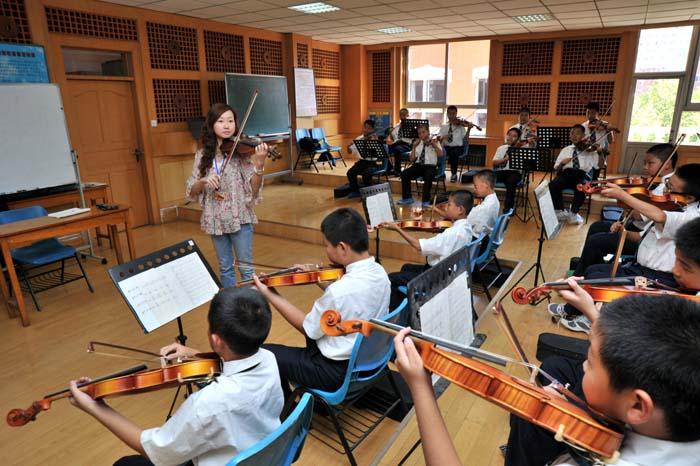 小提琴专项课